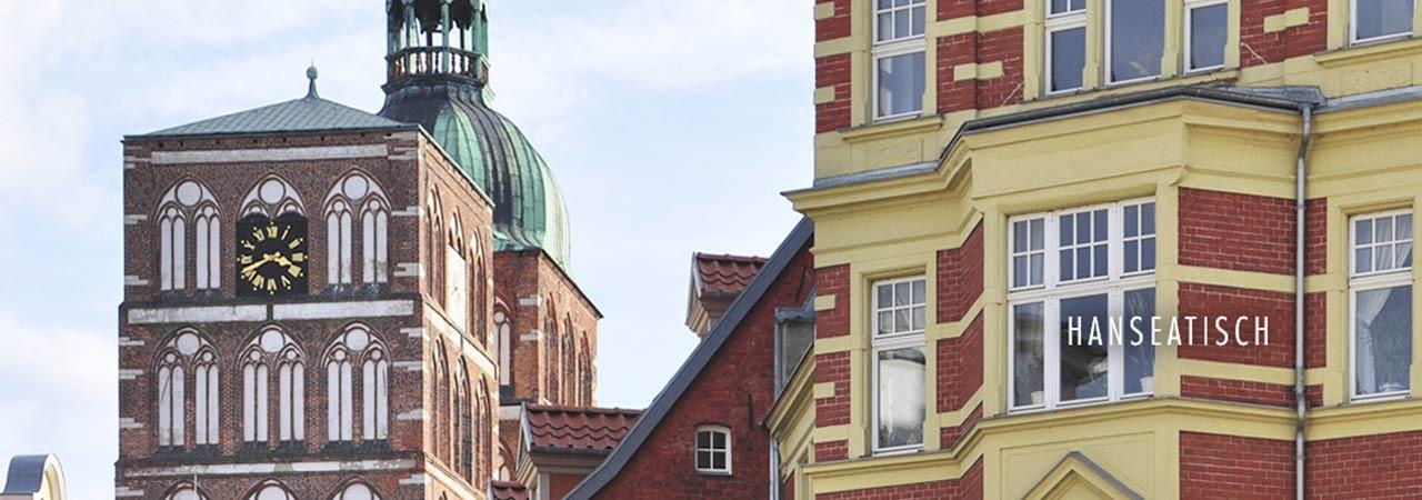 Insel Rügen - hanseatische Altstadt