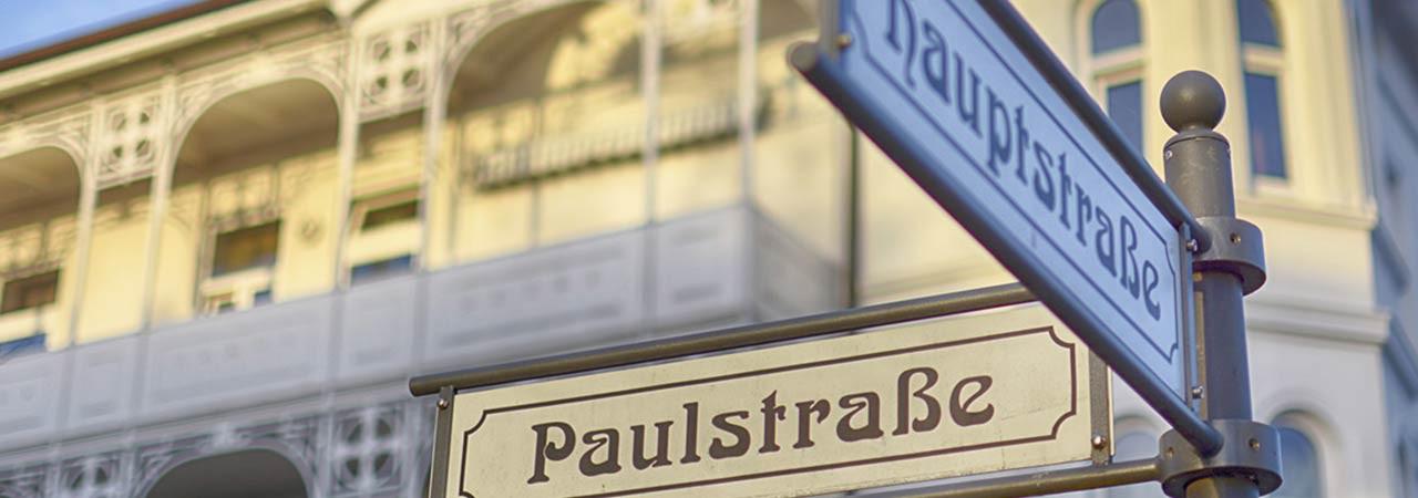 Insel Rügen - Hauptstrasse / Paulstrasse
