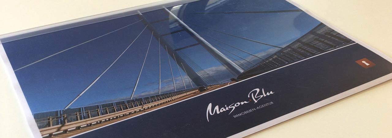Maison.Blu - Immobilien Agentur / Präsentation